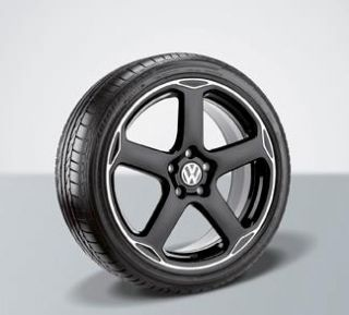 VW Jetta Karthoum 18x8 Wheel Black Alloy