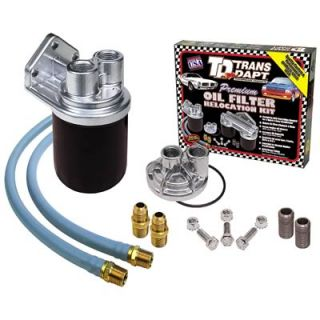 Trans Dapt 1122 Oil Filter Relocation Kit Single Filter 30 Length