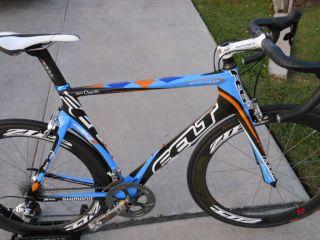 Felt AR1 Team Issue Road Bike New SRAM Red Group Zipp 404 Garmin