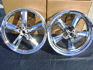 Harley Vrod V Rod Muscle Chrome Wheels Rims