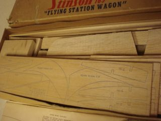Cleveland Stinson 165 Flying Station Wagon Control Line Model Airplane