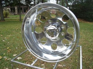 Ford Chevy Dodge 16 8 on 6 5 BP Dually Polished Wheels 167 Ion
