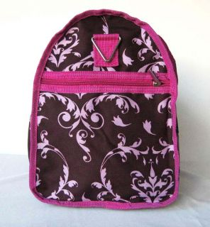 19 Duffel Tote Bag Luggage Purse Travel Case Overnight Floral Pink