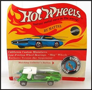 Today I am listing three different vintage Hot Wheels Redline Cars