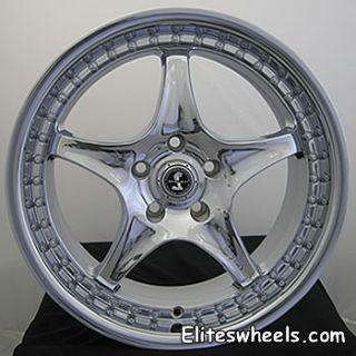 20x9 Chrome American Racing Shelby Shelby Type S1 Wheels 5x4.5 +40