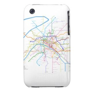 Paris Metro Blackberry Bold Case