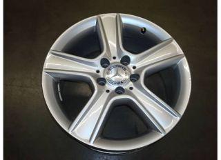 17 Mercedes Benz C300 Wheel Rim Fron Facory Spor 10 11 A204 C Class