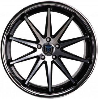 20 Rohana RC10 Wheels Concave Machine Black Staggered