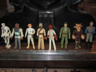 Vintage 70s 80s Star Wars 182 Action Figure Lot RARE Luke Vader Boba