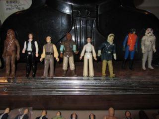 Vintage 70s 80s Star Wars 182 Action Figure Lot RARE Luke Vader Boba