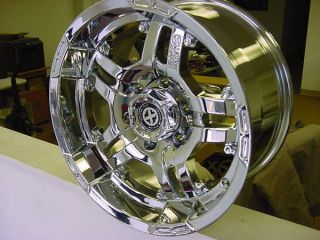 AX181 8 Lug Jeep Ford Chevy Dodge Artillery Wheels