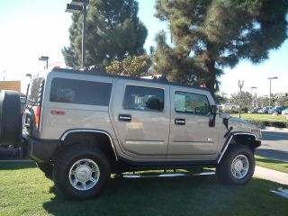 2003 2009 Hummer H2 Chrome Accessories Stainless Steel Fender Trim