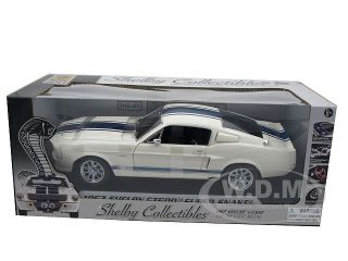 Mustang GT500 Super Snake White 1 18 by Shelby Collectibles 187