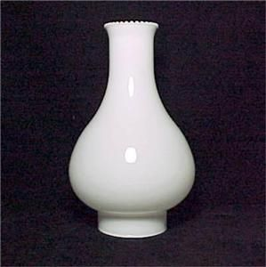 White Glass 3 5 x10 Big Store Kerosene Oil Lamp Chimney