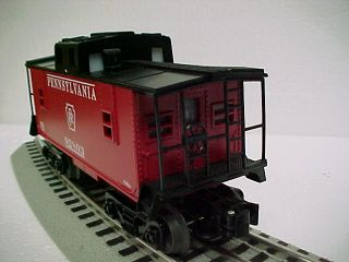 Lionel PRR Caboose 6 30096 MTH Train Rolling Stock Model Red O Gauge 6