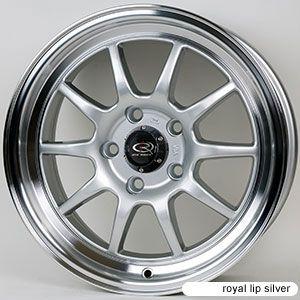 Rota GT3 15x7 4x100 ET40 67 1 Hub Silver Rims Wheels