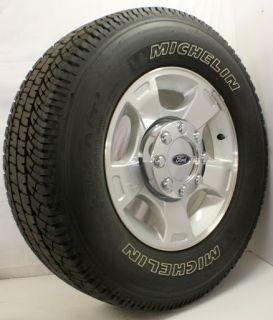 Off 2005 13 Ford F250 F350 8 Lug 18 Wheels Rims Michelin Tires