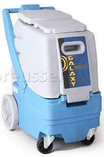 Edic Galaxy Carpet Extractor Cleaning Machine Dual 2 Stage Vacuums