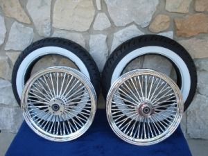16X3.5 DNA MAMMOTH 52 SPOKE WHEEL SET FOR HARLEY TOURING DRESSERS