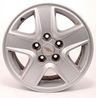 15 Chevy Malibu Silver Finish Factory Wheel 5173