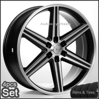 22 IROC Wheels Rims and Tires Chevy 6LUG Escalade Nissan