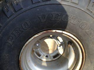 HONDA 250 SX 250 ES ~ FRONT WHEEL RIM TIRE PRO VECTOR 301 22 X 11   8