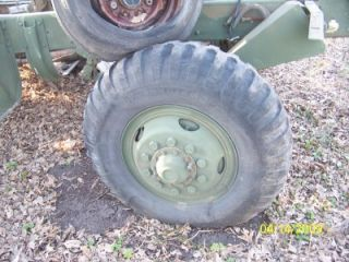 Ton 1100 20 Semi Tires Rims Wheels Military Tread