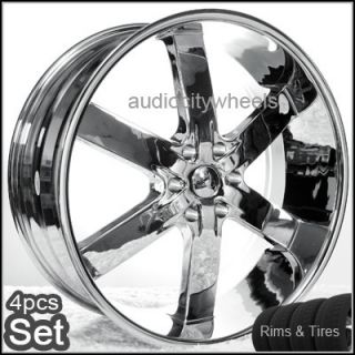 22 Rims and Tires Wheels Chevy Ford Escalade Tahoe RAM
