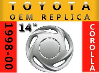 Toyota Corolla 14 New Wheel Cover Hubcap 1pc Single 1998 1999 2000