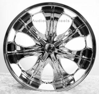 22Rims Tires VC725 Wheels 300C Magnum Charger