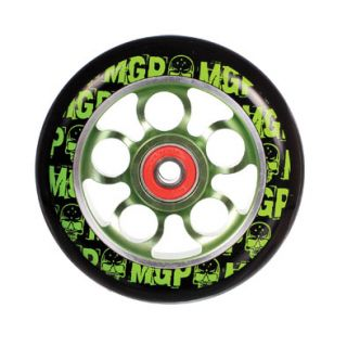 MGP Aero Core 100mm Kick Scooter Wheel w Bearings Green Madd Gear
