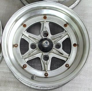 SSR Super Star Formular 14 x 7J Alloy Rims Wheels 4x114 Datsun 260z