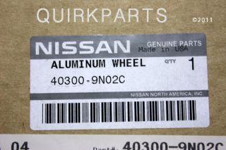 ORIGINAL EQUIPMEN 18 Inch Alloy Wheel Rim for your Nissan Maxima