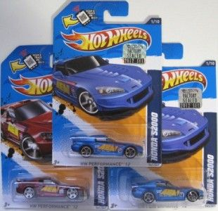 Hot Wheels Honda S2000 2012 Factory SEALED Hologram Master Set 1 64