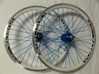 20 Vuelta USA Custom BMX Wheels White Blue