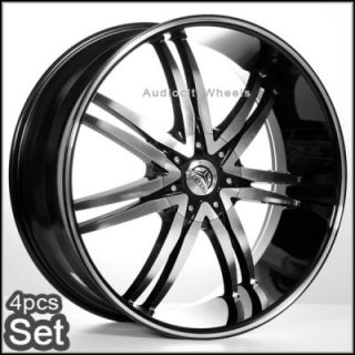 24inch Rims and Tires Wheels Chevy Ford Escalade RAM