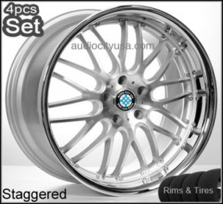 20 Wheels and Tires for BMW 3 5 7SERIES M3 M5 M6 x3 x5 x6 Rims