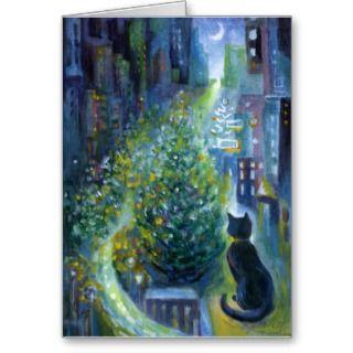 Cat Christmas Cards, Cat Christmas Card Designs
