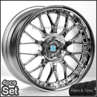 19 for BMW Wheels TIRES525 528 535 550 M5 330 Rims