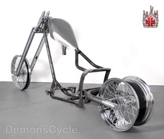 Rolling Chassis Frame 250 Rims Fit Harley Softail Motor
