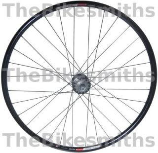 STATRU BLACK TRACK FIXED GEAR BIKE 700C REAR BICYCLE WHEEL & FREE COG