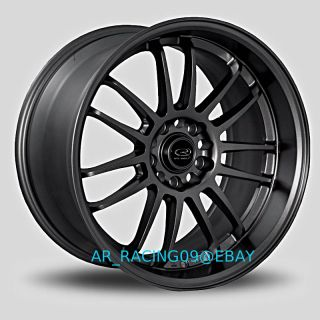 18x10 Rota SVN 5x100 5x114.3 +30 Hyper Black WRX STI TC 350z G35 EVO X