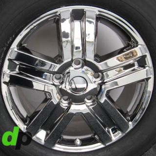 Sequoia Factory OEM Ecodriven Chrome Wheels Rims Dunlop Tires