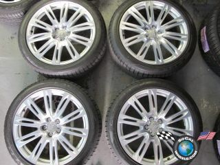 A8 Factory 20 Wheels Tires OEM Rims 265/40/20 Good Year F1 ASYmetric