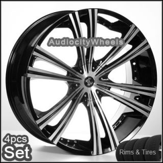 26 inch Wheels and Tires for Land Range Rover FX35 Rims