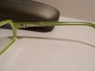 Vanni Eyeglasses Model V1724 Color A229 Lime Green Tortoiseshell Brown