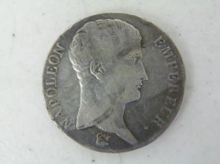 1806 L French 5 Francs Coin Silver E253