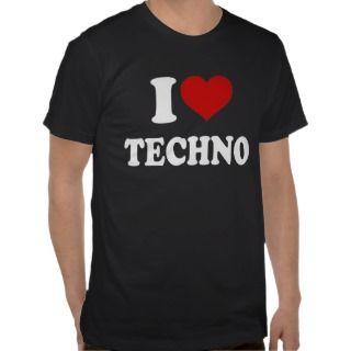 Love Techno T shirt