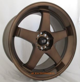 18 Rota Wheels 18x10 P45R2 Bronze Genesis Mustang 350Z