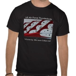 US Air Force Thunderbird Tail Fins Tshirts